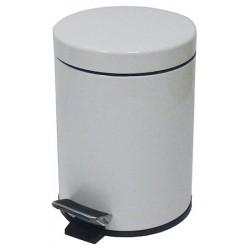 Poubelle JVD à pédale métal laqué époxy 3 L