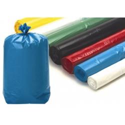 Sacs poubelle 20L bleus usage courant 10 microns (le carton de 1000)