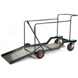 Chariot de transport  pour conteneurs de 240 litres