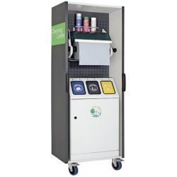 Station mobile de collecte et de nettoyage multifonction