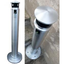 Cendriers borne aluminium Sydney