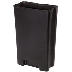 Bac Rigide simple pour Collecteur à pédale HACCP Slimjim 68 L large