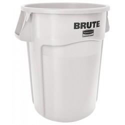 Collecteur Brute avec conduits d'aération 166,5 L blanc