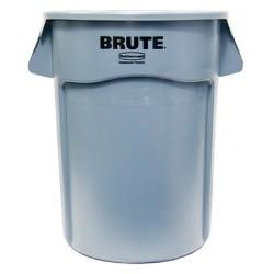 Collecteur Brute rond 208,2 L gris
