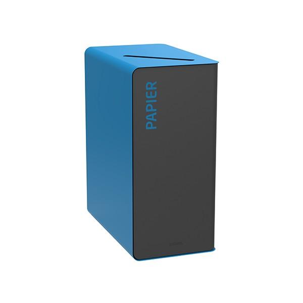 Poubelle de tri sélectif Cube 65 L Tri papier sans serrure