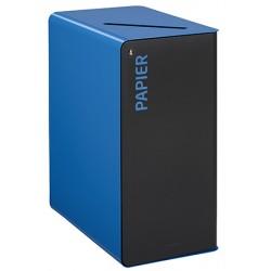 Poubelle de tri sélectif Cube 65 L Tri papier avec serrure