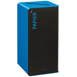 Poubelle de tri sélectif Cube 40 L Tri papier avec serrure