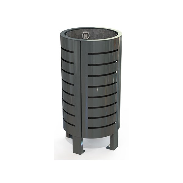Corbeille Surzur métal 40 L