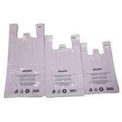 Sacs bretelles BD blanc 30+16x65 (Le carton de 500)
