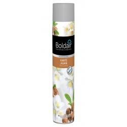 Lot de 12 aérosols Boldair parfumant karité jasmin 750 ml