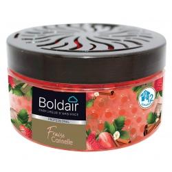 Lot de 6 boites Boldair Perles Fraise Cannelle 250 g