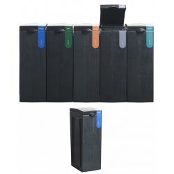 Station de tri sélectif 100% recyclée Papier 70 L  L 43 x L 28 x H 77,1 cm