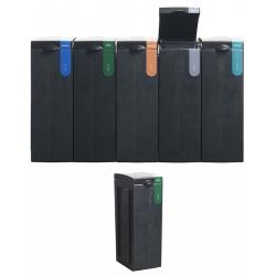 Station de tri sélectif 100% recyclée Déchets Organiques 70 L  L 43 x L 28 x H 77,1 cm