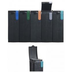 Station de tri sélectif 100% recyclée Gobelets 70 L  L 43 x L 28 x H 77,1 cm