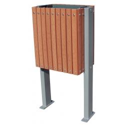 Poubelle Design acier alu et tech 30 L