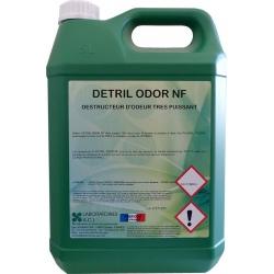 Destructeur d'odeur ultra puissant Detril Odor NF à diluer 5L