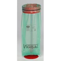 Support sac sur poteau avec platine vigipirate