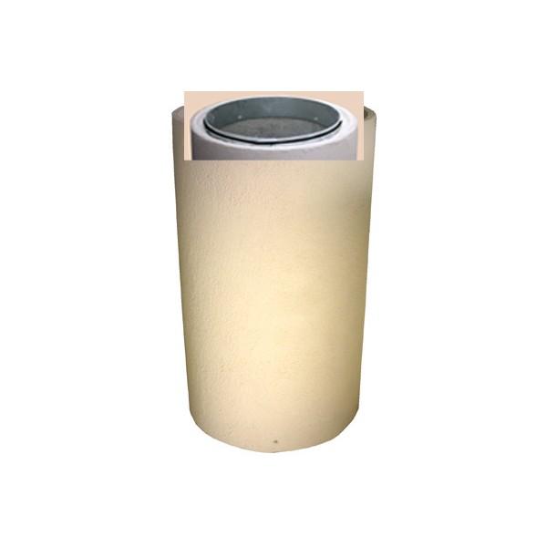 Corbeille Kumquat en béton ronde 150L