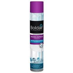 Lot de 12 aerosols desodorisants Boldair surpuissant destructeur d'odeurs 750 ml