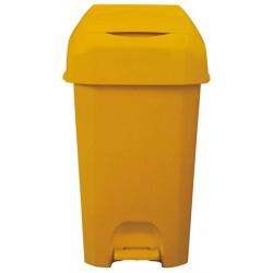 Poubelle à couches jaune 60 L