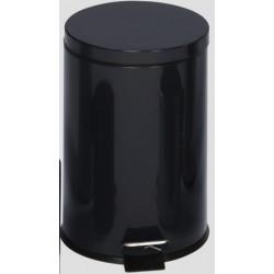 Poubelle à pédale 20L coloris noir