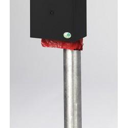 Poteau galvanisé à chaud pour corbeille hygiène canine N°2 et 4